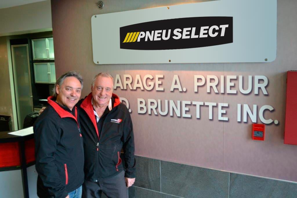 Alain Prieur et Daniel Brunette
